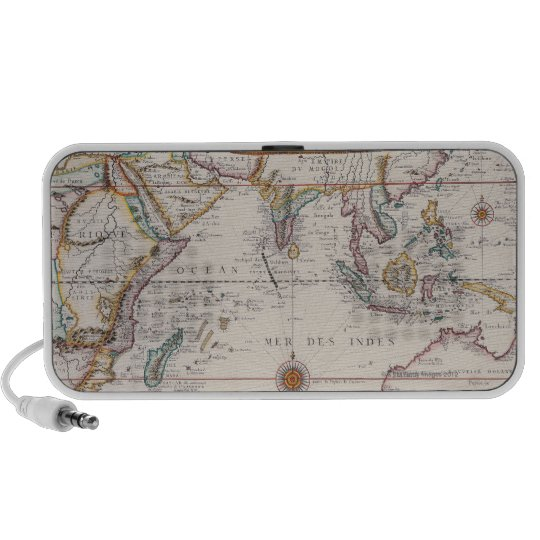 Map of South East Asia Portable Speaker
