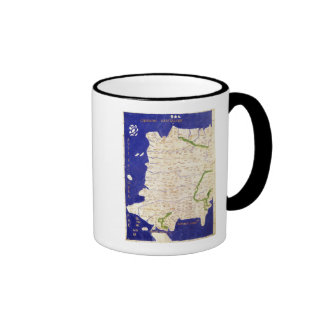 Map of Spain and Portugal, from 'Geographia' Mugs