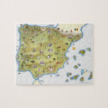 Map of Spain and Portugal Puzzle