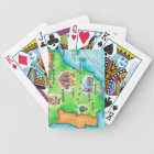 Map of Spain Bicycle Playing Cards