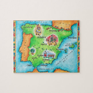 Map of Spain Puzzle