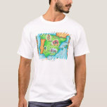 Map of Spain T-Shirt