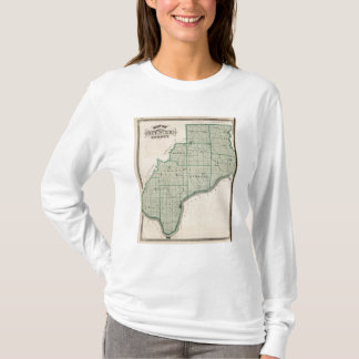 Map of Spencer County T-Shirt