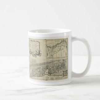 Map of St. Augustine Florida (1764) Coffee Mug