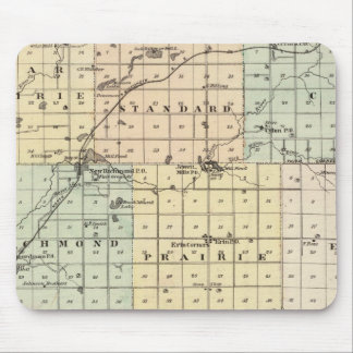 Map of St Croix County Mouse Pad