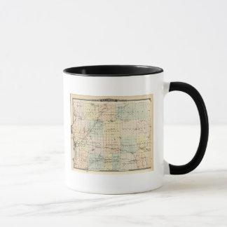 Map of St Croix County Mug