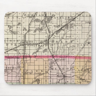 Map of St Joseph County, Michigan Mouse Pad
