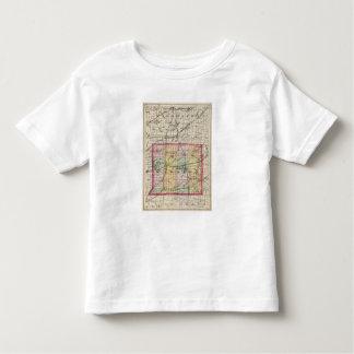 Map of St Joseph County, Michigan Toddler T-shirt