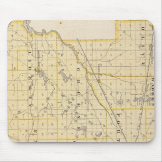 Map of St Joseph County Mouse Pad