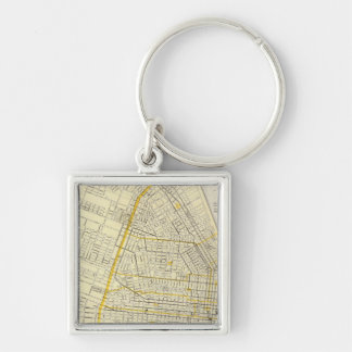 Map of St Louis City Keychains