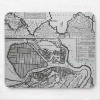 Map of St.Petersburg, c.1750 Mouse Pad