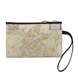 Map of St. Petersburg, Russia created in 1737 Change Purse