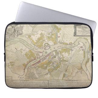 Map of St. Petersburg, Russia created in 1737 Laptop Sleeves