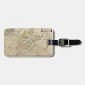 Map of St. Petersburg, Russia, from 1737 Luggage Tag