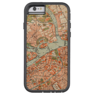 Map of St Petersburg Tough Xtreme iPhone 6 Case