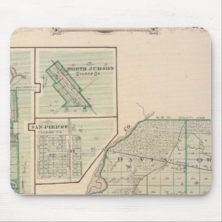 Map of Starke County with Knox Mouse Pad