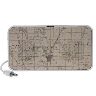 Map of Steuben County Indiana Travelling Speaker