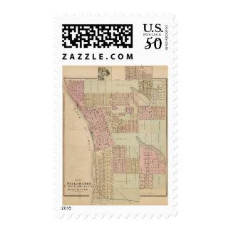 Map of Stillwater, Washington County, Minnesota Postage