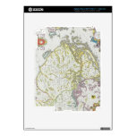 Map of Stockholm, Sweden Decals For iPad 3