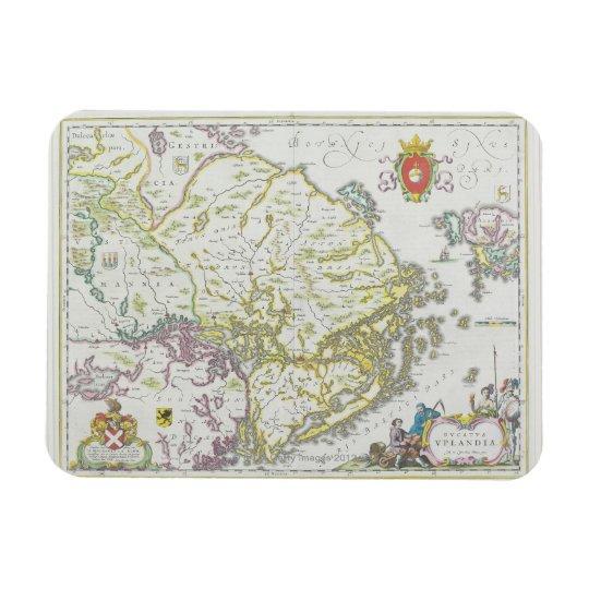 Map of Stockholm, Sweden Magnet