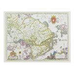Map of Stockholm, Sweden Postcard