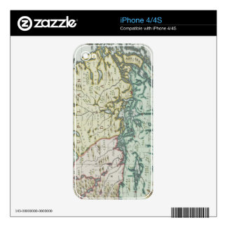 Map of Sweden iPhone 4 Decal