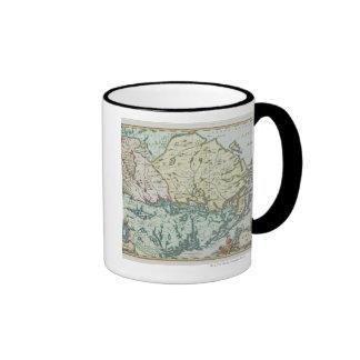 Map of Sweden Coffee Mugs
