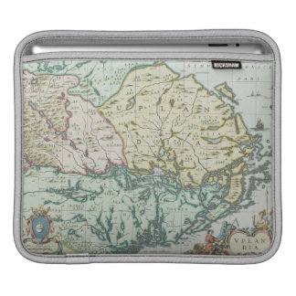 Map of Sweden Sleeve For iPads