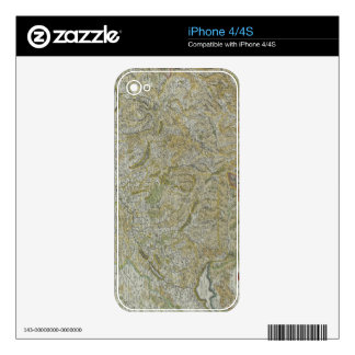 Map of Switzerland 2 Decal For The iPhone 4