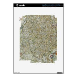 Map of Switzerland 2 Decals For iPad 3