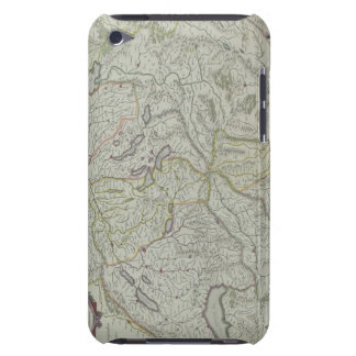 Map of Switzerland Barely There iPod Case