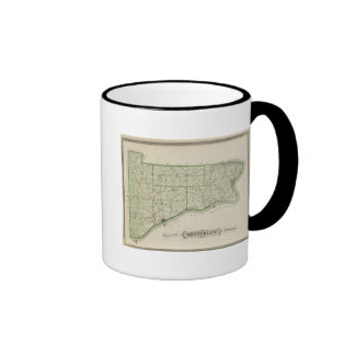 Map of Switzerland County Mug