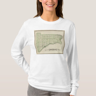 Map of Switzerland County T-Shirt