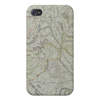 Map of Switzerland iPhone 4/4S Cover