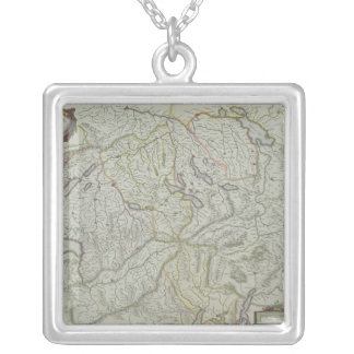 Map of Switzerland Necklace