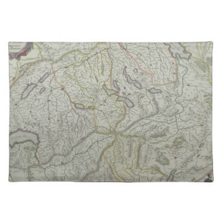 Map of Switzerland Placemat