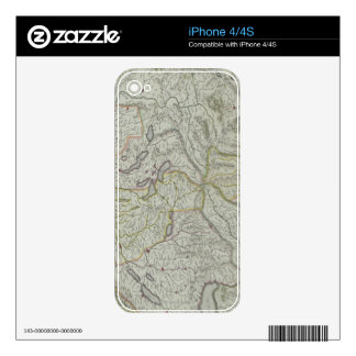 Map of Switzerland Skins For The iPhone 4S
