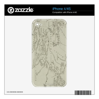 Map of Tartaria in China iPhone 4S Decals