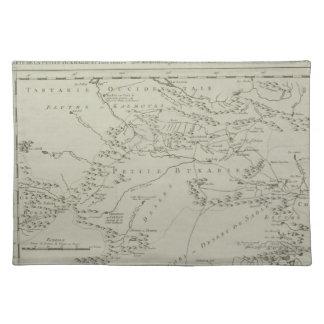Map of Tartaria in China Place Mat
