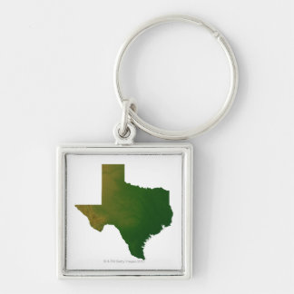 Map of Texas 2 Keychain
