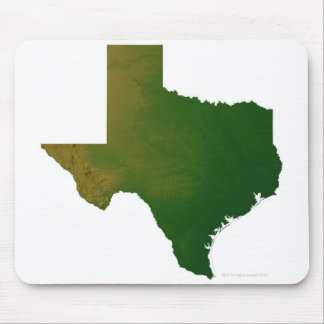 Map of Texas 2 Mouse Pad