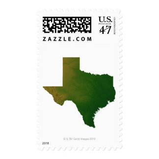 Map of Texas 2 Postage