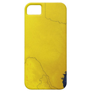 Map of Texas 3 iPhone 5 Cases