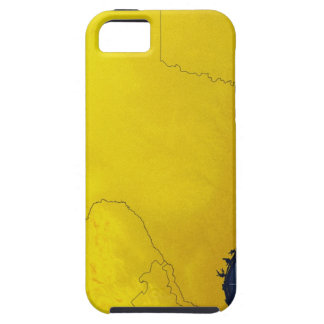 Map of Texas 3 iPhone SE/5/5s Case