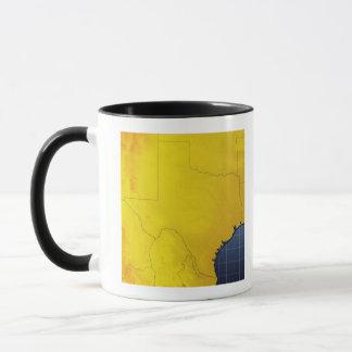 Map of Texas 3 Mug