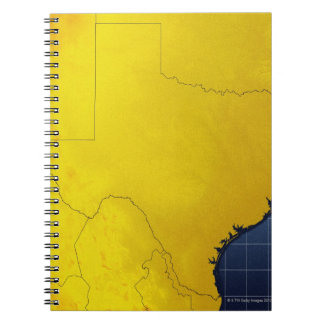 Map of Texas 3 Notebook
