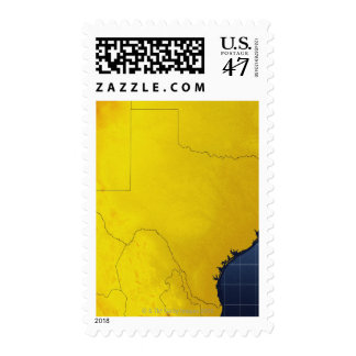 Map of Texas 3 Stamp