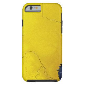 Map of Texas 3 Tough iPhone 6 Case