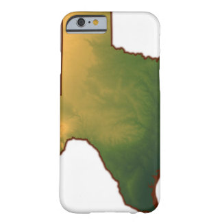 Map of Texas 4 Barely There iPhone 6 Case