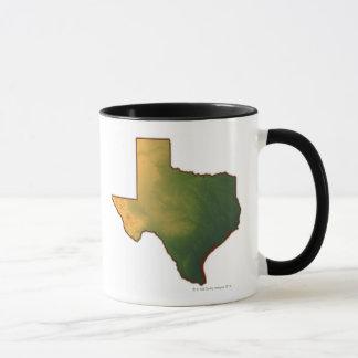 Map of Texas 4 Mug